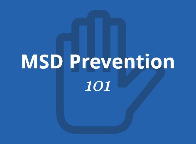 Definition of Musculoskeletal Disorder (MSD) | ErgoPlus